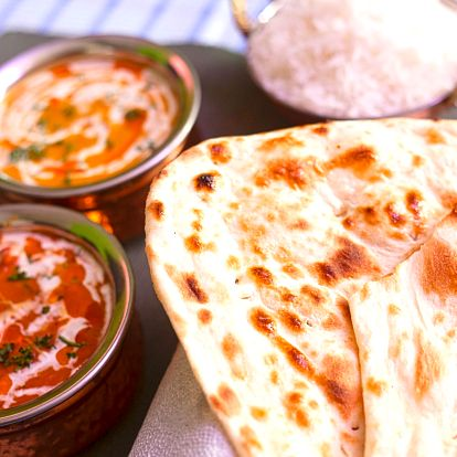 Autentické indicko-pákistánské menu pro 2