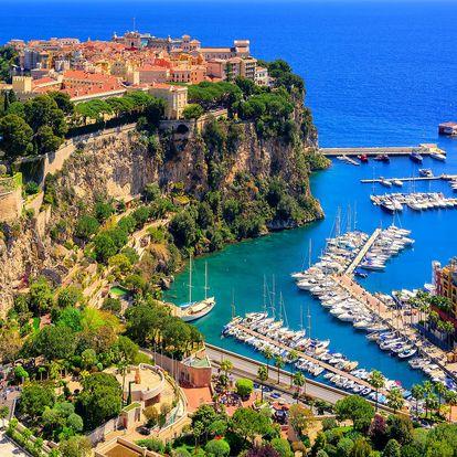 Vyrazte si z Moravy do Monaka na víkend 3.-5. 8.