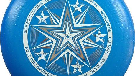 Frisbee UltiPro-FiveStar blueSparkle