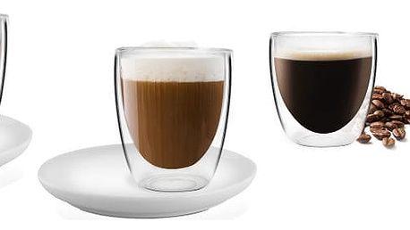 Sada 4 dvojitých sklenic Vialli Design Cups Adriana