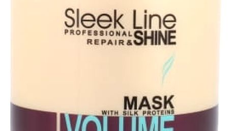 Stapiz Sleek Line Volume 1000 ml maska na vlasy pro ženy