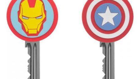Rozlišovače na klíče Marvel Avengers