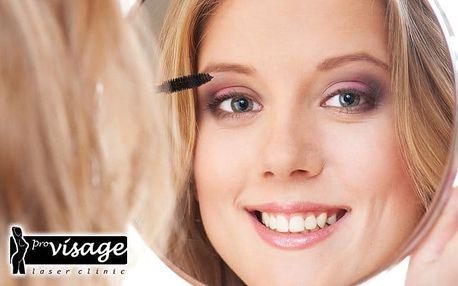 Profesionální neinvazivní lifting očních víček na klinice Pro visage v Praze
