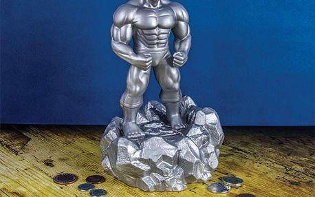 Postříbřená pokladnička HULK Avengers