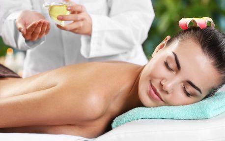 100 minut relaxace: masáž, lázeň na nohy a maska