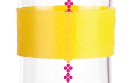 Skleněná lahev Squezze Cmyk Yellow, 0,55 l