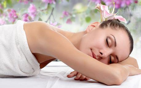 Dopolední 40minutová relaxační masáž zad a šíje