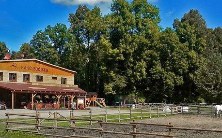 3 dny v moderních chatičkách na koňském ranči