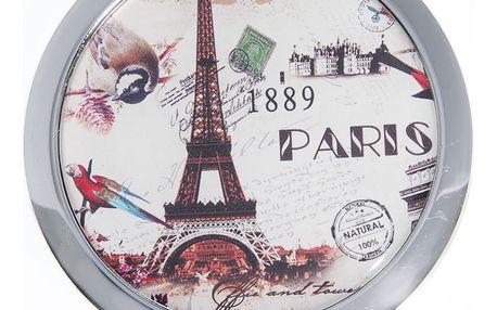 Kapesní kulaté zrcátko Paris Summer 1889 kovové
