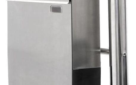 Tuin 2645 Ocelová poštovní schránka se stojanem