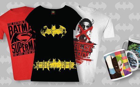 Trička a hrnky s motivy Batman vs. Superman