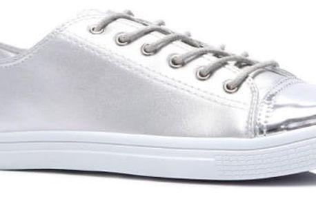 Dámské tenisky Abbie 754 stříbrné