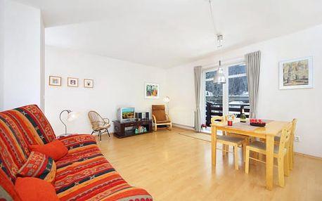 Špindlerův Mlýn v apartmá pro 4 osoby na břehu Labské přehrady