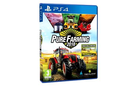 Hra Ubisoft PlayStation 4 Pure Farming 2018 (5902385106146)