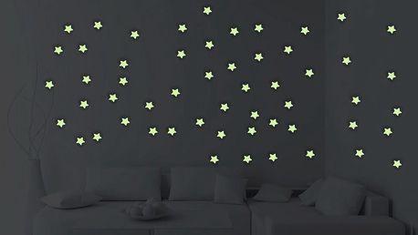Sada 100 svítících hvězd Ambiance Stars