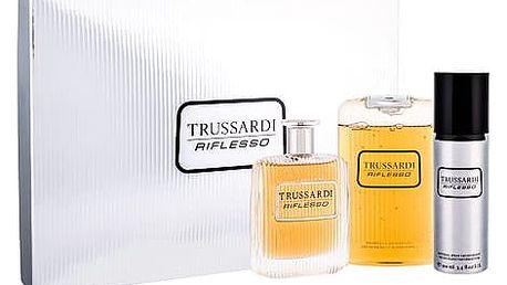 Trussardi Riflesso EDT dárková sada M - EDT 100 ml + sprchový gel 200 ml + deodorant 100 ml