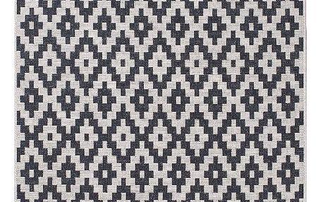 Černý koberec Think Rugs Cottage 120x170cm