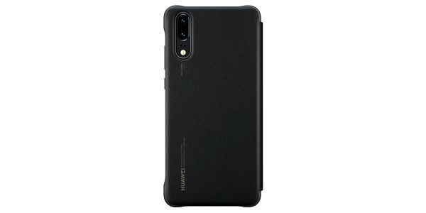 Pouzdro na mobil flipové Huawei Original Smart View pro P20 (51992399) černé3