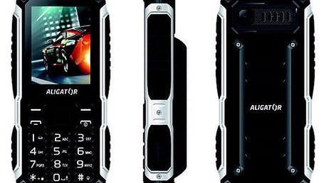 Mobilní telefon Aligator R30 eXtremo černý (AR30BB)