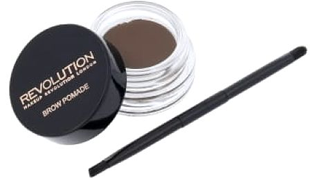 Makeup Revolution London Brow Pomade 2,5 g úprava obočí pro ženy Medium Brown
