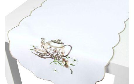 Forbyt Ubrus Konvice ovál, 40 x 90 cm
