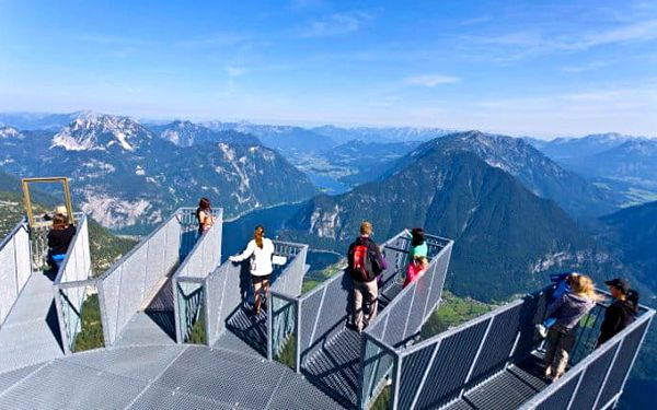 Celodenní zájezd pro 1 k Dachsteinu v Rakousku