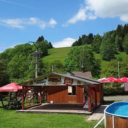 Jaro/léto v Krkonoších pro dva + polopenze a volný vtup do bazénu