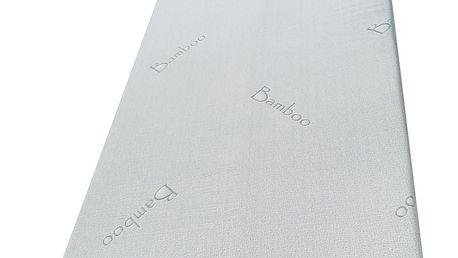 Viscopur Matracová podložka Bamboo, 180 x 200 cm