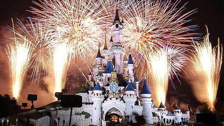 3denní zájezd pro 1 do Disneylandu v Paříži