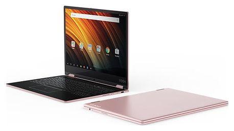 Notebook Lenovo Yoga A12 (ZA1Y0096CZ) růžový Software F-Secure SAFE, 3 zařízení / 6 měsíců v hodnotě 979 Kč + DOPRAVA ZDARMA