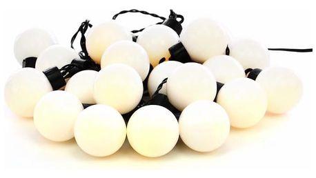 Garthen 32791 Zahradní párty osvětlení - venkovní, 20 LED, teple bílá