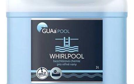 Bezchlórová chemie Guapex GUAa POOL WHIRLPOOL 3 lity + Doprava zdarma