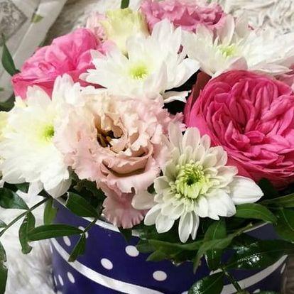 Krásná kytice nejen v dárkovém boxu dle výběru