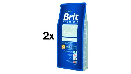 Granule Brit Premium Dog Light 2 x 15 kg