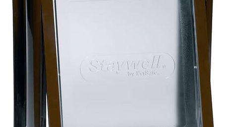 Staywell s transparentním flapem 775 hnědá