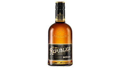 Rum Republica Exclusive Božkov 0,5l 38%