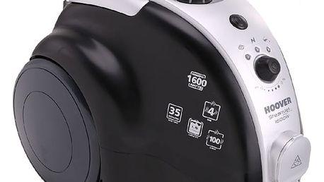 Parní čistič Hoover SCD1600 černý