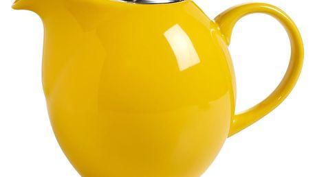 Žlutá konvička s čajovým sítkem Maxwell&Williams InfusionsT, 1l