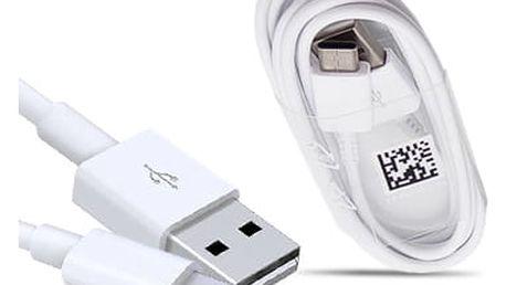 Kabel Samsung USB-C, 1,5m, bulk bílý (EP-DW700CWE)