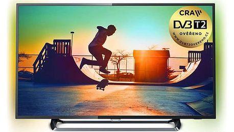 Televize Philips 43PUS6262 stříbrná