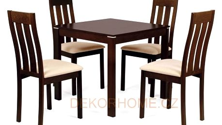 Jídelní stůl BT-6788 + 4 jídelní židle BC-2602 Autronic