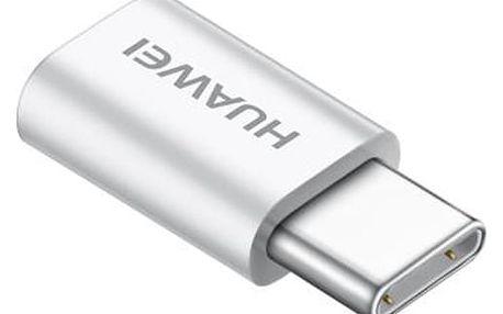 Redukce Huawei MicroUSB / USB-C bílá (4071259)