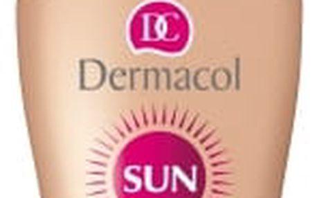 DERMACOL Voděodolné zvláčňující mléko na opalování ve spreji SPF 15 Sun (Water Resistant Sun Milk) 200 ml