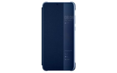 Pouzdro na mobil flipové Huawei Original Smart View pro P20 Pro modré (51992368)