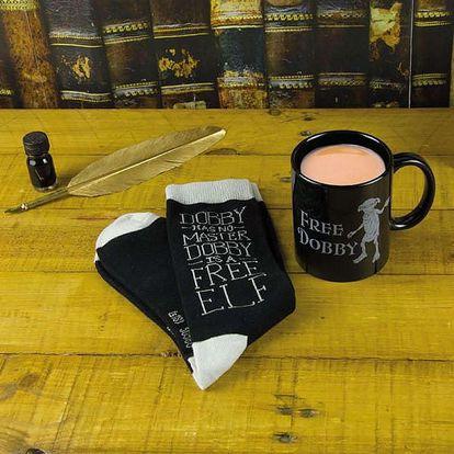 Hrnek a ponožky Dobby Harry Potter
