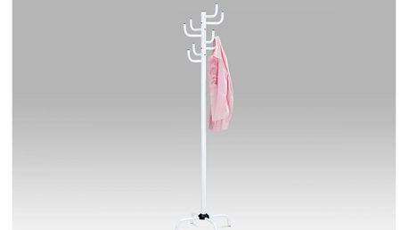 Věšák, v. 182 cm, vysoký lesk bílý 80609-A WT Autronic