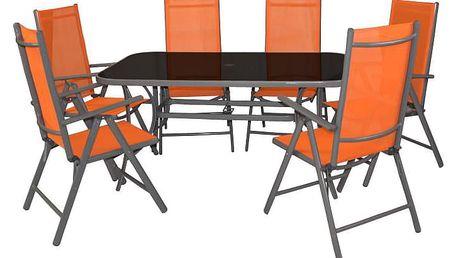 Garthen 32105 Zahradní set oranžový 7 ks