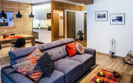 Nové komfortní apartmány Tatry Apart v polském Zakopaném