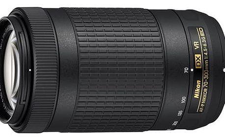 Objektiv Nikon NIKKOR 70-300mm F/4.5-6.3G ED AF-P DX VR černý (JAA829DA)