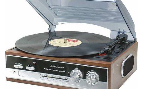 Soundmaster PL186H dřevo